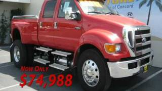 2008 Ford F-650 Super Duty XLT Crew Cab 4x2 Concord, CA 94520 aka BIG RED