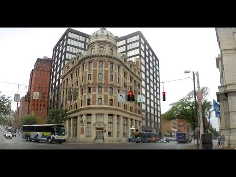 Drive through Albany New York (State Street plus Capitol tour)