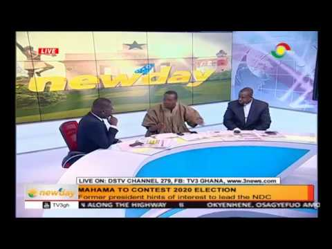 Newspaper review - Mahama to contest 2020 election