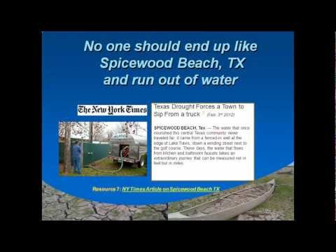 Central Texas Water Coalition on the proposed LCRA Water Management Plan