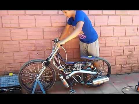 bici tuning con suspencion a aire de paraguay youtube. Black Bedroom Furniture Sets. Home Design Ideas