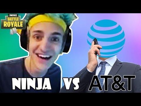 NINJA vs AT&T 1300$ Internet