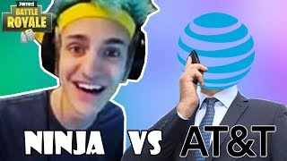 NINJA vs AT&T (1300$ Internet)