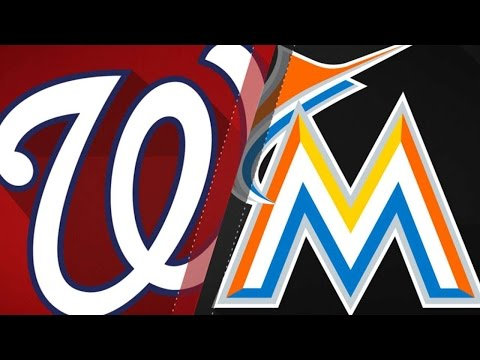 6/21/17: Marlins score two in 8th to top the Nats