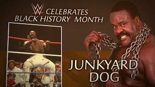 WWE honors Black History Month 2015: Junkyard Dog tribute