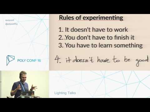 PolyConf 16 / Lighting Talks Session / Day 2