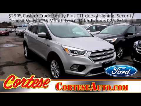 2017 Ford Escape Fairport, NY | Ford Dealership Fairport, NY