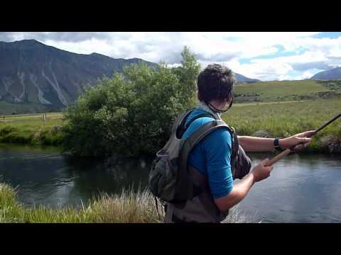 Tenkara en Nouvelle Zélande