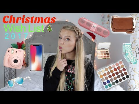 Christmas Wishlist  Teen Gift Guide 2017