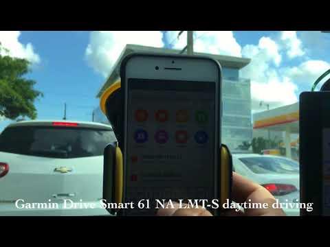 Garmin Drive Smart LMT-S 61 Daytime Navigation GPS