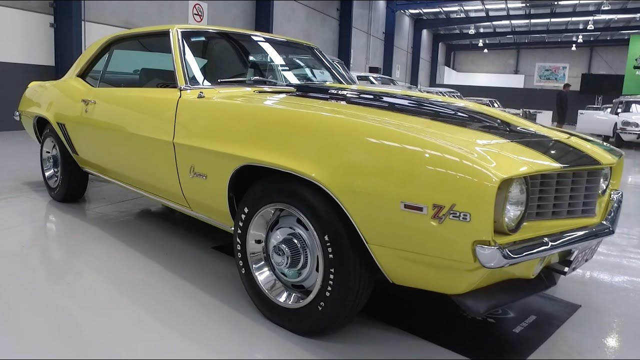 1969 Chevrolet Camaro Z/28 Coupe (LHD) - 2017 Shannons Melbourne Winter Classic Auction