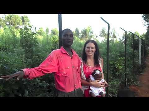 100% Hope Uganda Security Fence