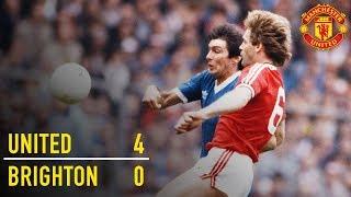 Manchester United 4-0 Brighton (1983)   FA Cup Classic   Manchester United