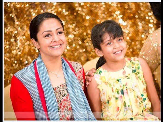 Jyothika Surya Daughter Diya Very Cute Video