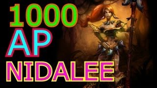Scumbag Nidalee 1000 AP (League Of Legends)