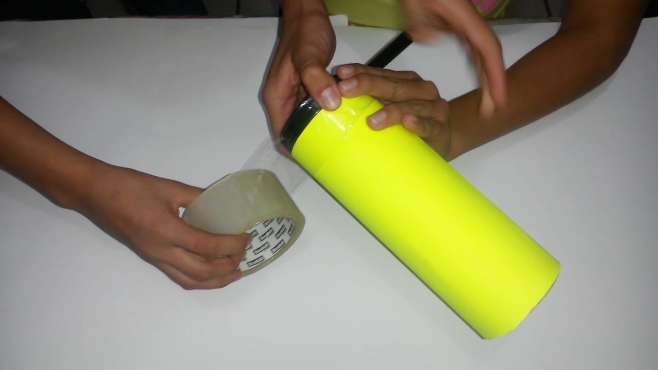 Como hacer un telescopio casero youtube for Como se hace una pileta de material