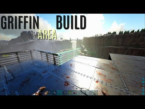 FORTIFIED GRIFFIN STORAGE BUILD - Official PVP (E39) - ARK Survival Gameplay