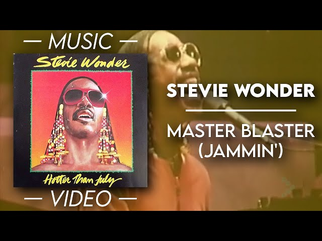 Stevie Wonder - Master blaster (Jammin') — (Official Music Video)