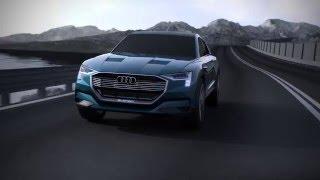 Электромобиль Audi E Tron Quattro Concept Animation