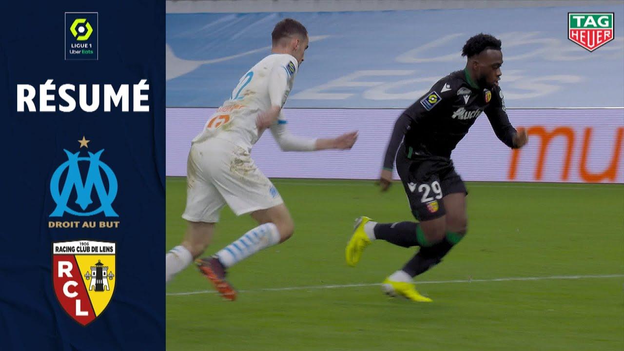 OLYMPIQUE DE MARSEILLE - RC LENS (0 - 1) - Résumé - (OM - RCL) / 2020-2021 - Ligue 1 Uber Eats