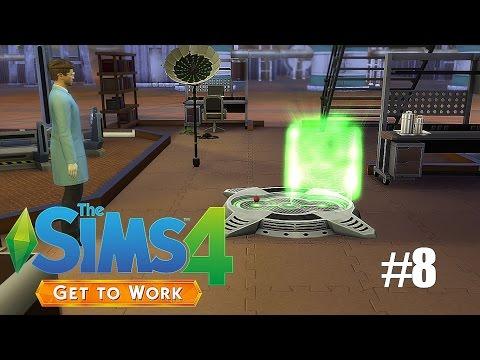 Sims 4: Get To Work (SCIENTIST) P8 - The Cloning Machine!