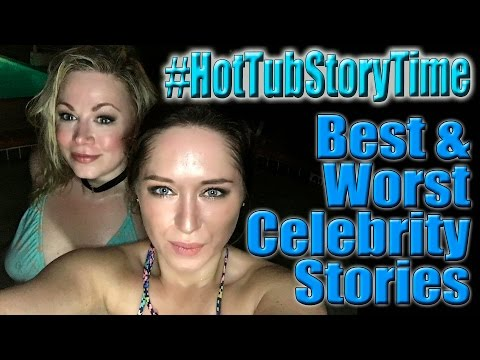 Hot Tub Storytime: Celebrity Meetings | Scream Queen Stream