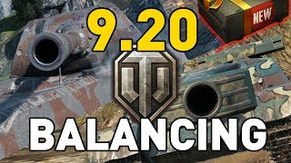 World of Tanks || Patch 9.20 - Balance Changes