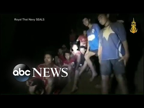 New details on health of boys rescued from Thai cave
