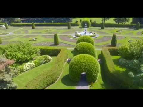 Manito Park Drone Aerial Photography Spokane WA