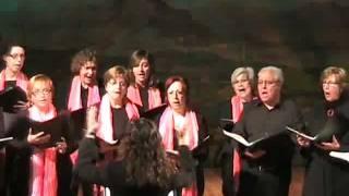 Les dotze van tocant. Coral Baluern. Concert de Nadal del Centre 2008.flv