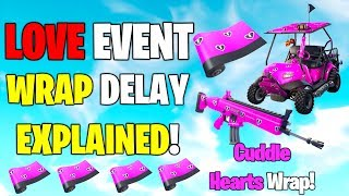 "Fortnite *NEW* HOW TO GET THE FREE WRAP ""Cuddle Hearts"" Release Date + EXPLAINED!! Share the Love!"
