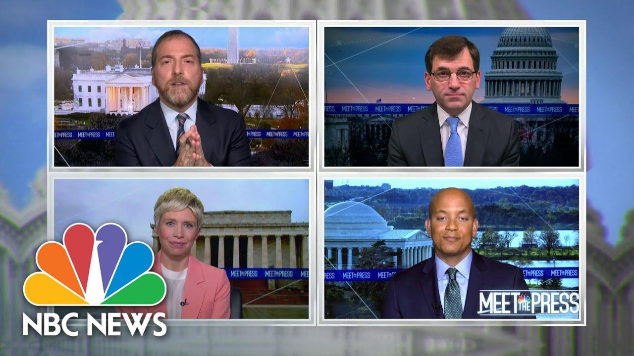Full Panel: Trump's Refusal To Concede Divides Republicans | Meet The Press | NBC News