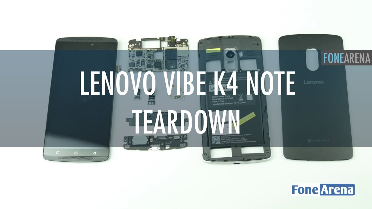 Lenovo Vibe K4 Note Teardown