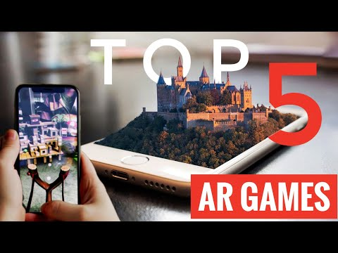 Top 5 AR Games, Android And IOS