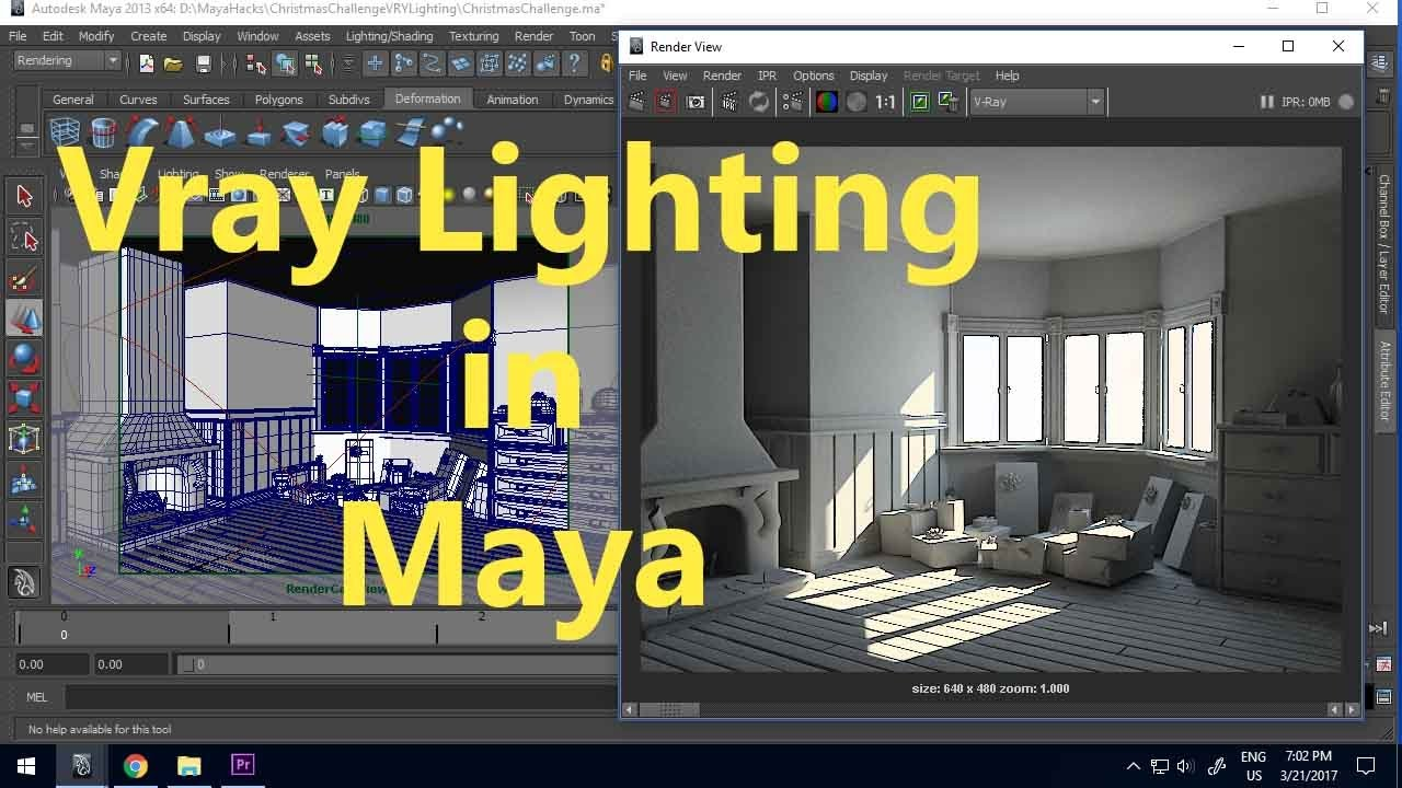 Quickthrough vray in maya: reflection falloff | cg tutorial.