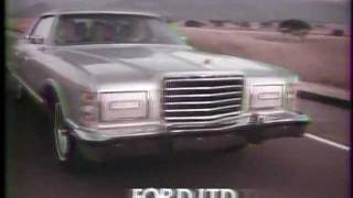 Ford LTD 1977 TV commercial
