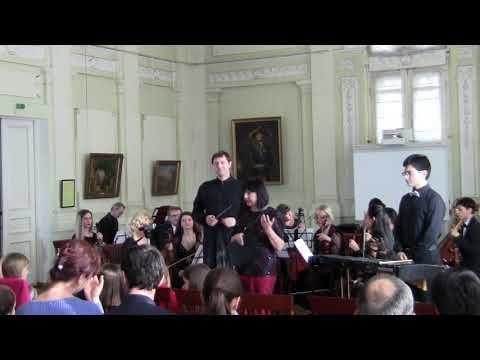 Ян  Кваст.   Выступление   с  оркестром Крымской  филармонии