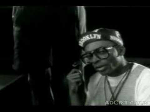 Retro Michael Jordan and Spike Lee Commercial