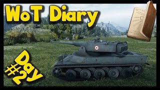 ► World of Tanks Diary | Day #2 - Day, That Was Saved By French Tanks