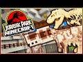 T-REX SKELETON!   Jurassic Park Minecraft (Minecraft Dinosaurs Part 23)
