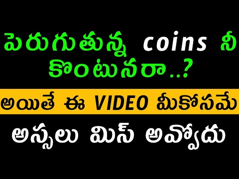 Don't buy increasing coins in crypto currency Telugu | small conis heavy risk in Telugu 2021 |