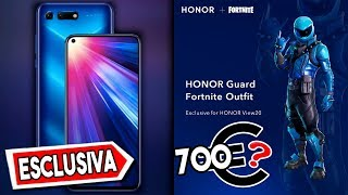 NUOVA SKIN ESCLUSIVA HONOR X FORTNITE HONOR GUARD SKIN ( HONOR VIEW 20 )