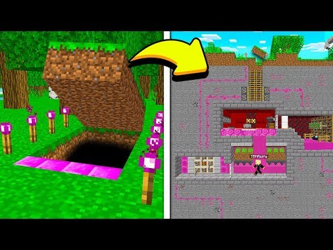 FINDING MY WIFE'S *SECRET* REDSTONE MINECRAFT HOUSE!