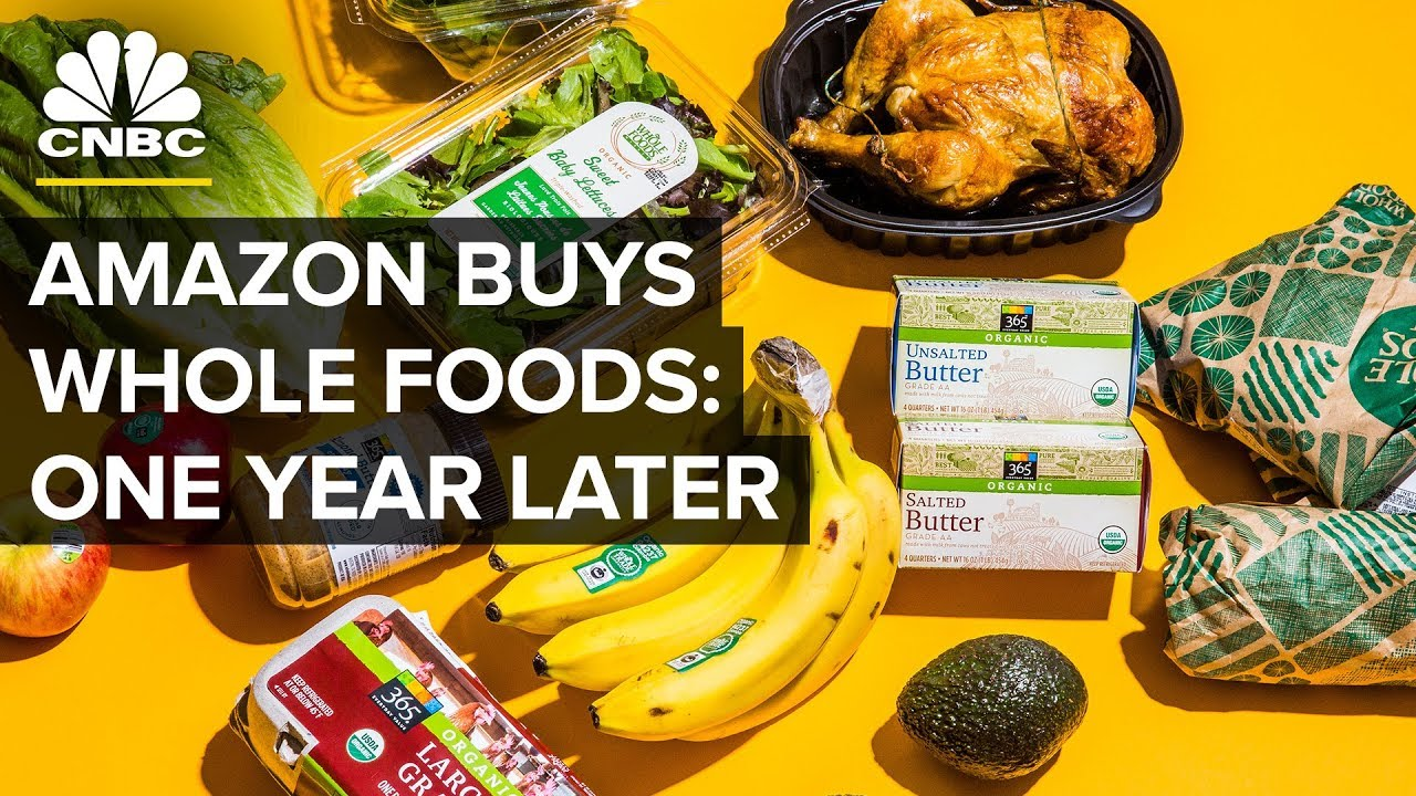 How has Whole Foods changed since Amazon bought it a year ago?