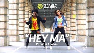 Pitbull J Balvin Ft Camila Cabelo Hey Ma Zumba Choreo By Alix Martin Mitchel