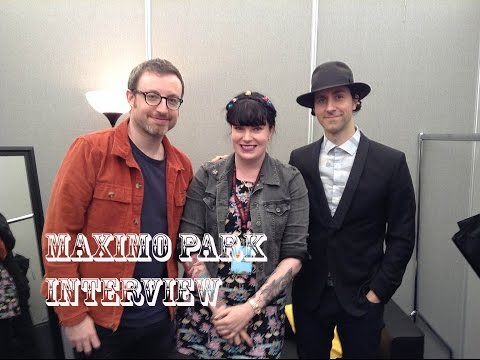 Maximo Park interview at T In The Park 2016 / Journo Jen Thomas