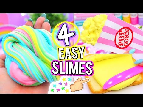 4-easy-diy-slime-ideas!-how-to-make-viral-slimes!