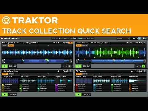 How to Search Your Track Collection Quickly in...