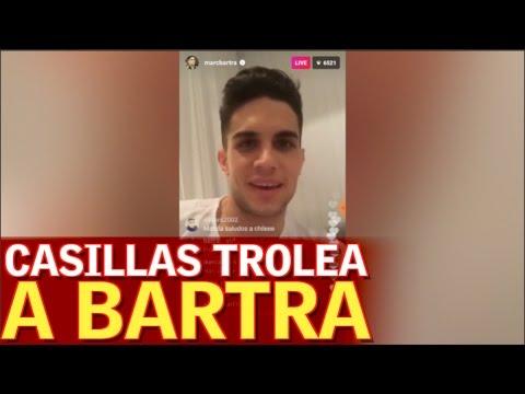 Casillas trollea a Bartra | Diario AS