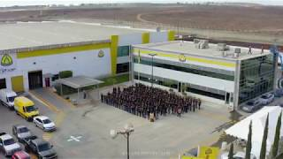 Klingspor staff drone photo Tijuana - Garage photostudio #corporate #drone
